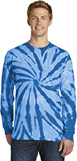 Port & Company Essential Tie-Dye Long Sleeve Tee PC147LS