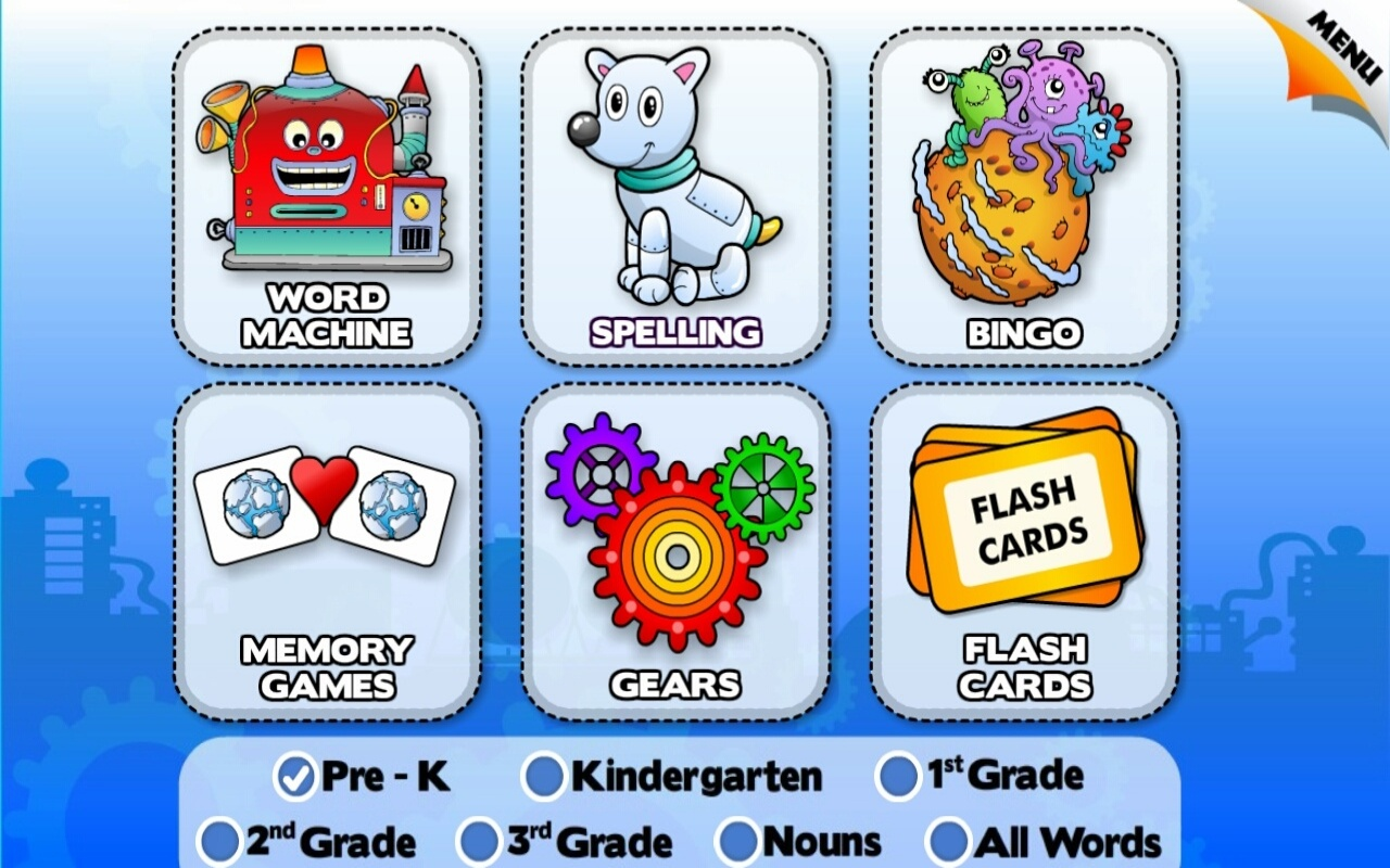 Sight Words Kids Reading Games & Flash Cards vol 1: Learn to Read - Learning Adventure for Preschool, Kindergarten and 1st Grade Boys and Girls by Abby Monkey (Lite app)