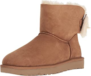 Women's Classic Mini Fluff Bow Boot
