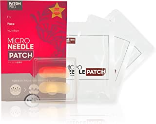 PATCH PRO Micro Needle Patch (4 pairs) Eye Mask Anti aging & Anti wrinkle Korean Cosmetics for Skin Aesthetic High Molecular Hyaluronic Acid is placed Skin from Within for longtime #Dab1006