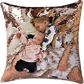 Best magic sequin pillow with photo Reviews