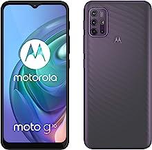 "Moto G10 (6.5"" Max Vision HD+, Qualcomm Snapdragon, 48MP quad camera system, 5000 mAH battery, Dual SIM, 4/64GB, Android 11), Aurora Grey"