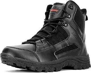 Ansbowey Bottes Hommes Chaussures de Randonnée Femmes Tactiques Militaire Combat Boots Exterieur antidérapantes Bottines a...