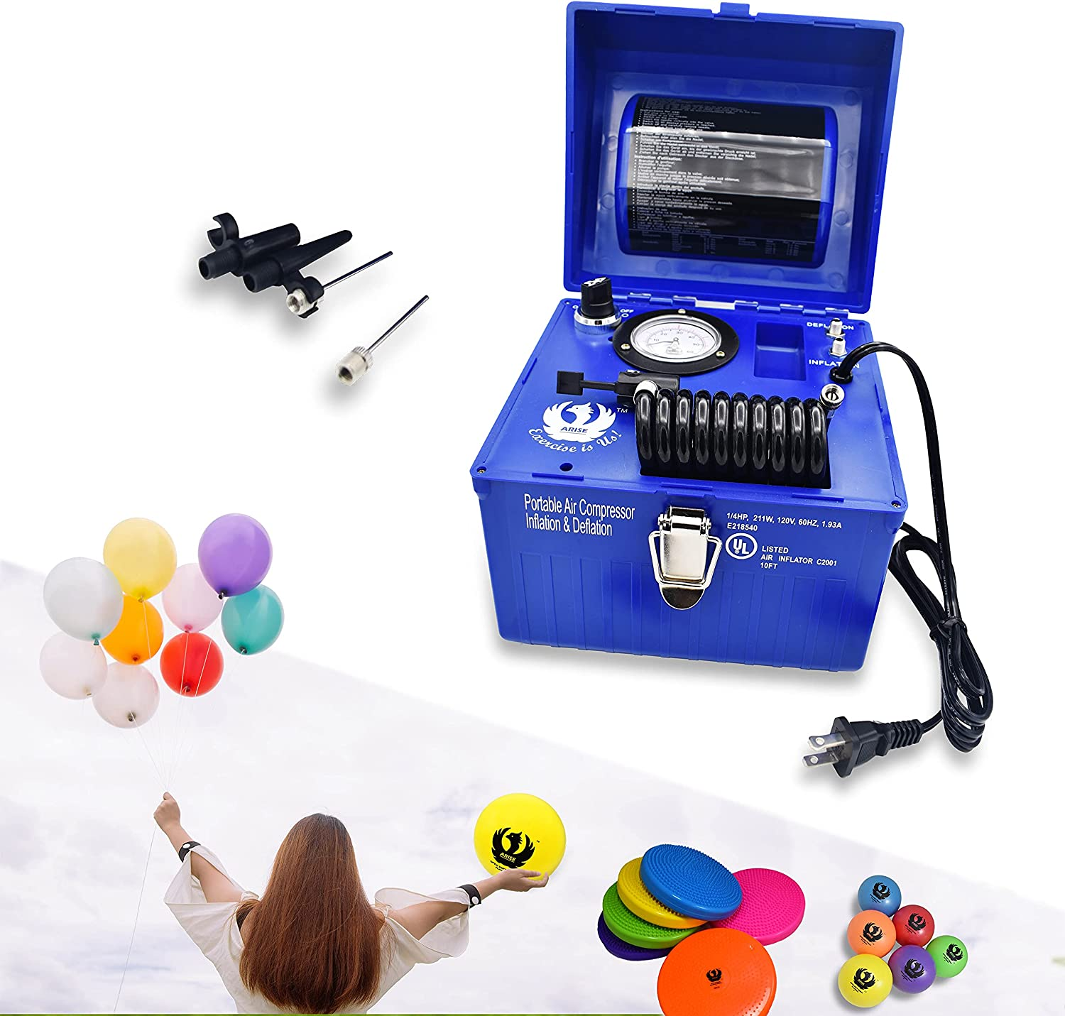 Air Compressor Portable 2 Sales Store of SALE items from new works in Electric 1 Deflator Inflator