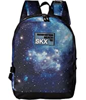 SKECHERS Galaxy Rider Backpack w/ Detachable Lunch Bag (Little Kids/Big Kids)