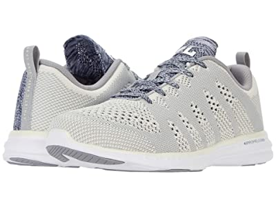 Athletic Propulsion Labs (APL) Techloom Pro (Pristine/Heather Grey/White) Men