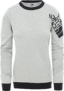 The North Face Train Logo Sweatshirt For Women - Tnf Light Grey, M