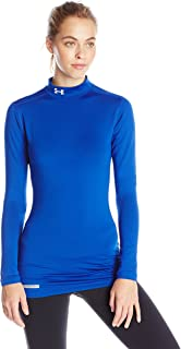Women ColdGear Fitted L/S Mock
