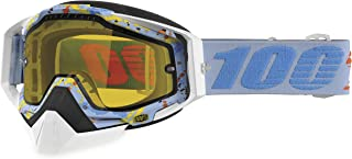 100% Racecraft Snow Goggles, Primary Color: White,...