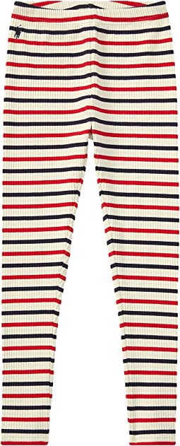 Polo Ralph Lauren Kids - Striped Stretch Cotton Leggings (Little Kids/Big Kids)