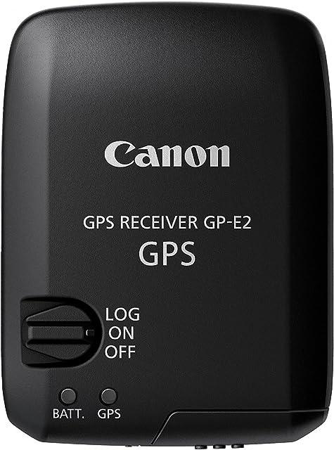 Canon GP-E2 GPS - Módulo Receptor GPS para Canon EOS-1D X Canon EOS 7D Canon EOS 5D Mark III Negro
