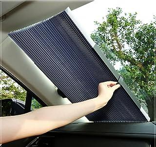 サンシェード 車 遮光 遮熱 自動伸縮 自動折畳 プライバシーを保護する 車 サンシェード