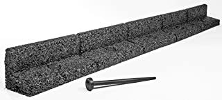 comprar comparacion Flexiborder - Bordillo flexible de jardín para césped, resistente a la intemperie, protector para la cortado...