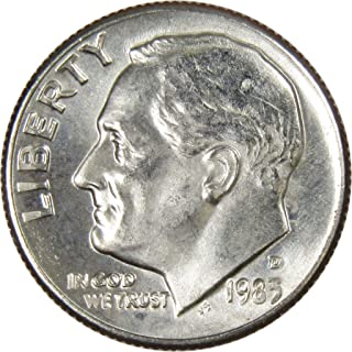 1983 D 10c Roosevelt Dime US Coin Uncirculated Mint State