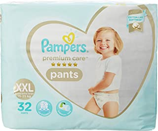 Pampers Premium Care Pants Diapers Extra Extra Large Size 64 pc Pack