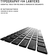Typography for Lawyers 2nd PDF