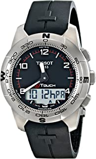 ساعة تيسوت تي تاتش II تيتانيوم T047.420.47.057.00 للرجال