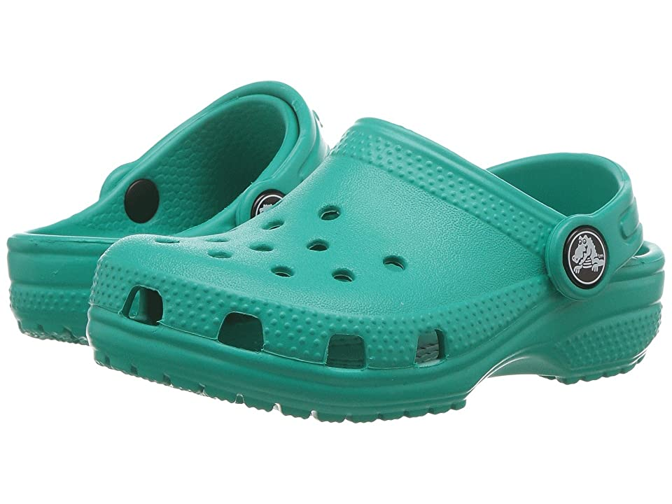 Crocs Kids Classic Clog (Toddler/Little Kid) (Tropical Teal) Kids Shoes