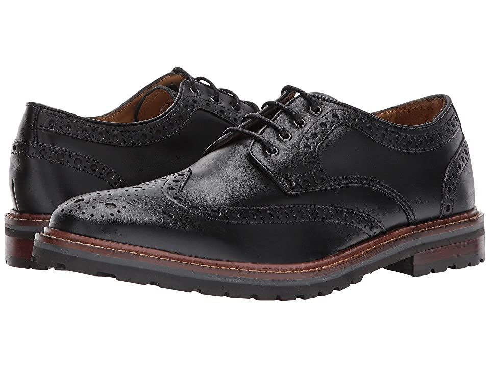 Florsheim Estabrook Wingtip Oxford (Black Smooth) Men
