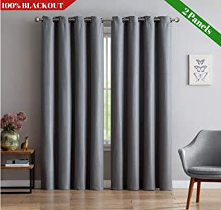 OCEAN LIFESTYLE Heavy-Duty Curtains for Home, Kitchen,...