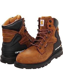 Carhartt 6 Soft Toe Waterproof Work Boot