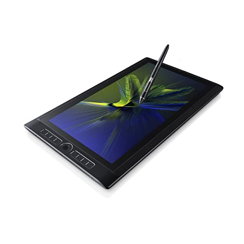 "Wacom MobileStudio Pro 16"" 512GB - Tablette graphique professionnelle sans fil, à stylet - Compatible avec ordinateurs sous Mac et Windows - Noir"