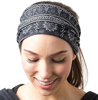 364d9cfc9f1 RiptGear Yoga Headbands Women Men - Wide Non Slip Design Headband Running  Yoga Fitness Fashion Other