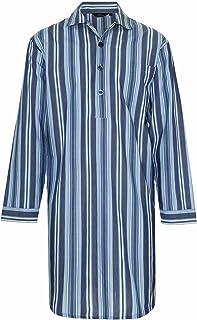 Mens Champion Westminster Stripe Nightshirt Sleepwear Sleepwear Dark-Blue XL