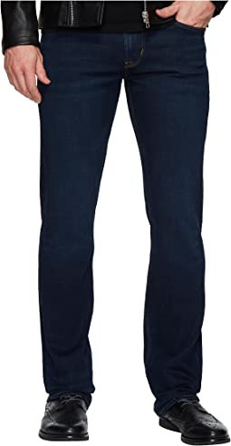 Hudson - Byron Straight Zip Fly Jeans in Session