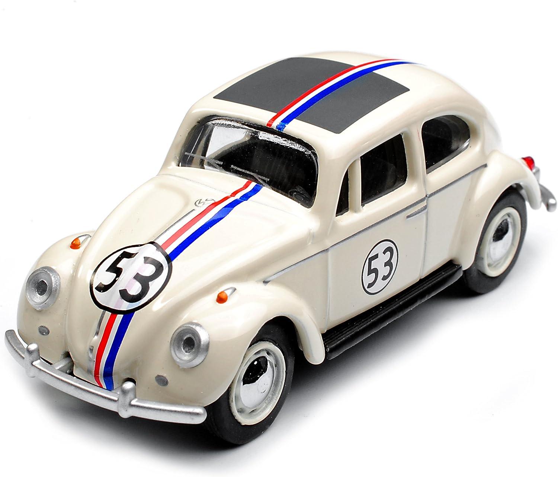Schuco Volkwagen Käfer Coupe Herbie Rally Nr 53 Cream Weiss 1 64 Modell Auto Mit Individiuellem Wunschkennzeichen Spielzeug