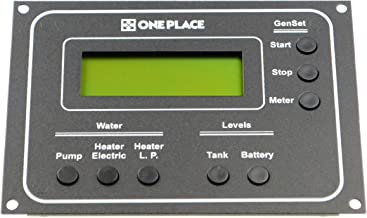 One Place 0010032-10 Monitor Panel with LCD Display