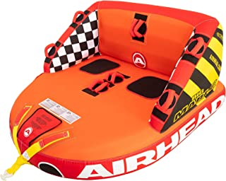 SportsStuff Super Mable | 1-3 Rider Towable Tube for Boating, Orange, Red, Yellow Airhead Mach | Towable Tube for Boating - 1, 2, and 3 Rider Sizes Sportsstuff Poparazzi | 1-3 Rider Towable Tube for Boating Sportsstuff Big Mable | 1-2 Rider Towable Tube for Boating