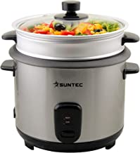 SUNTEC Cuiseur de riz RKO-9974 Thuy-Denise [capacité de 1 l, utilisable comme cuiseur vapeur, avec gobelet de mesure + pel...