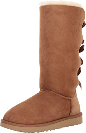 Ugg Australia Femme Bailey Bow Tall II Suede Bottes