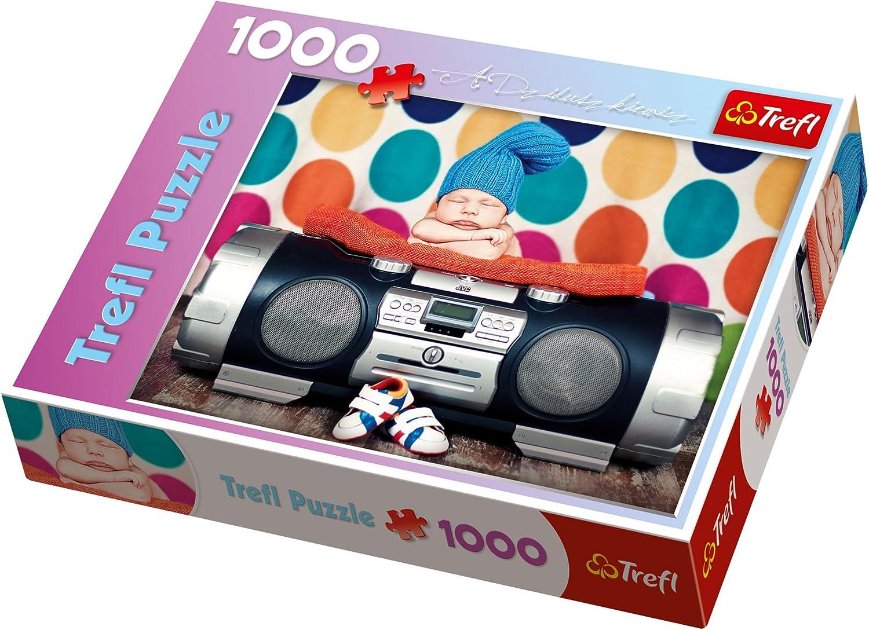 Puzzle 1000 Teile - Hip Hip Rhythmus - 10277 von Trefl B00735V44Q Verkaufspreis  | Elegant und feierlich