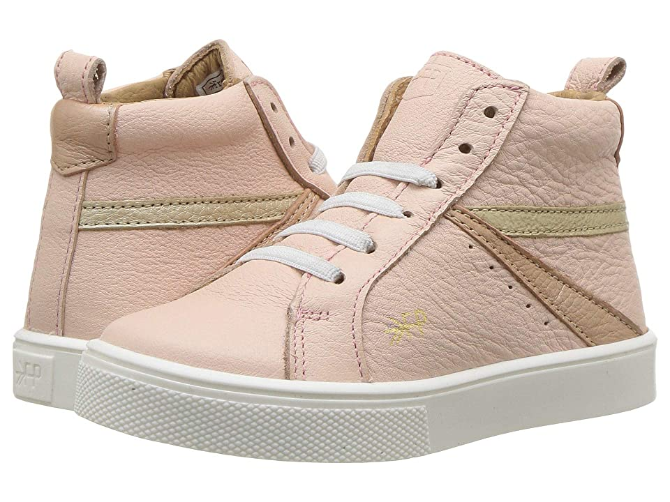 Freshly Picked High Top Sneaker (Toddler/Little Kid) (Blush) Girls Shoes