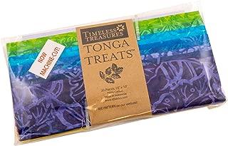 Tonga Treats Batiks Dazzle Shortcake 20 10-inch Squares Layer Cake Timeless Treasures Fabrics