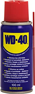 WD-40 Producto Multi-Uso - Spray 100ml - Lubrica, protege, abrillanta, afloja y desplaza la humedad