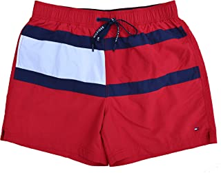 Tommy Hilfiger Flag Trunk Swimming Shorts Red Tango Red Size M