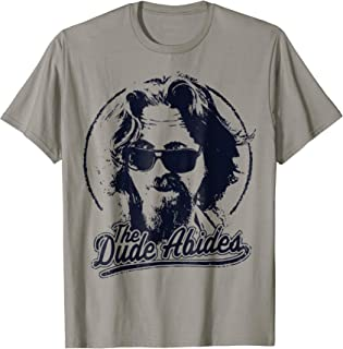 The Dude Abides Classic Circle Logo T-Shirt