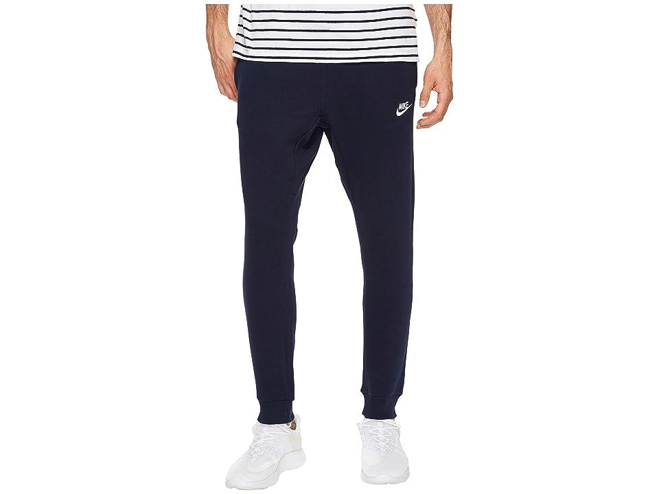 Nike Sportswear Fleece Jogger (Obsidian/White) Men
