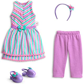 American Girl WellieWishers Ribbons & Stripes Outfit for 14.5
