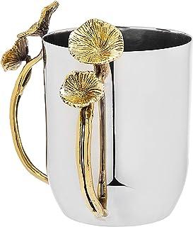 Wash Cup Gold Flower Design by Godinger