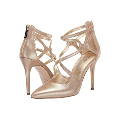 MICHAEL Michael Kors Catia Pump (Pale Gold 1) Women