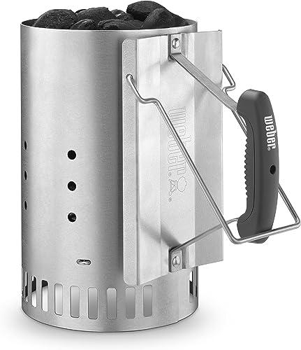Weber-7429-Rapidfire-Chimney-Starter,-Silver