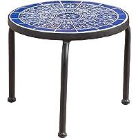 Deals on Christopher Knight Home Slate Ceramic Tile Side Table