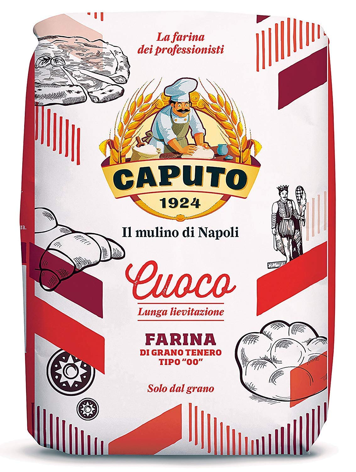 Antimo All items free shipping Caputo Chefs Flour 2021 autumn and winter new 2lb Pack Zero Italian Double 10 Of -