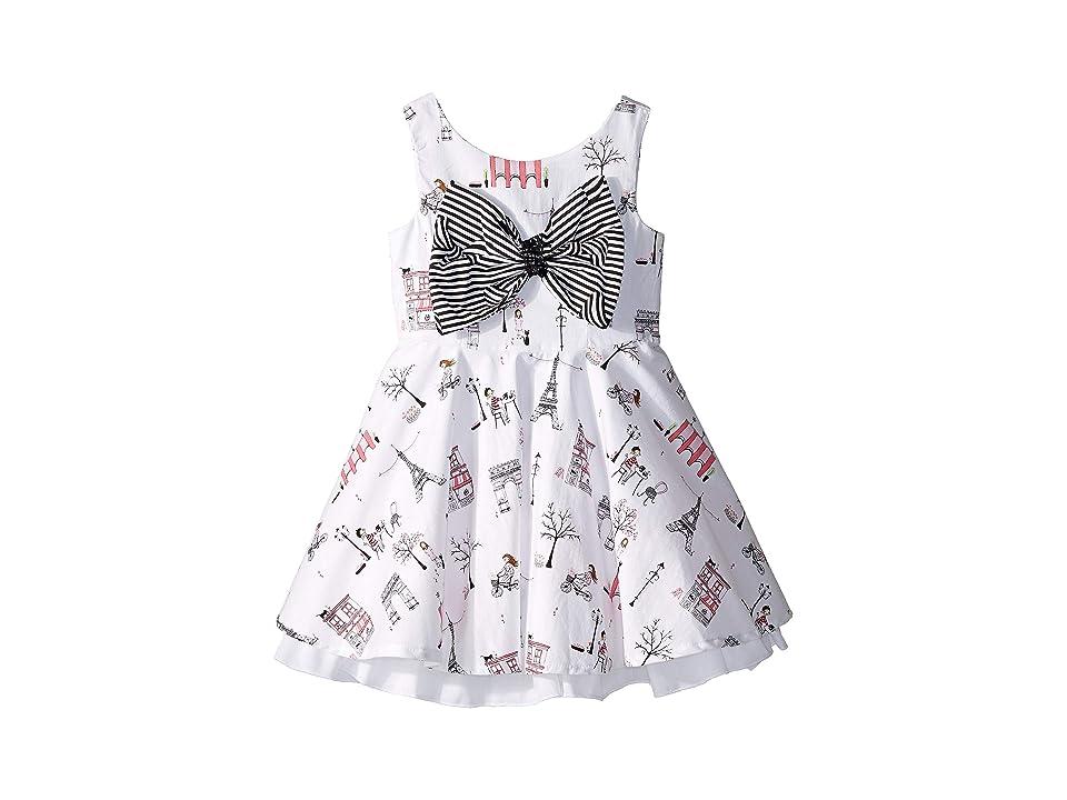 fiveloaves twofish Fashionista Cafe Dress (Toddler/Little Kids/Big Kids) (White) Girl