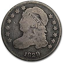 1829 dime