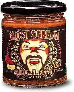 ghost scream chili garlic paste
